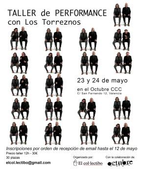 Taller de performance con Los Torreznos